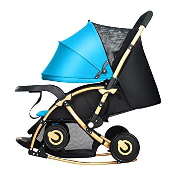 Amazon.com : WYNZYYESTC Folding Baby Stroller, Trolley ...