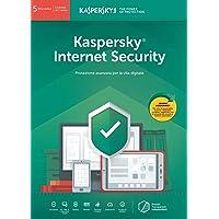 Kaspersky Lab Internet Security 2019 5 Dispositivi 1 Anno