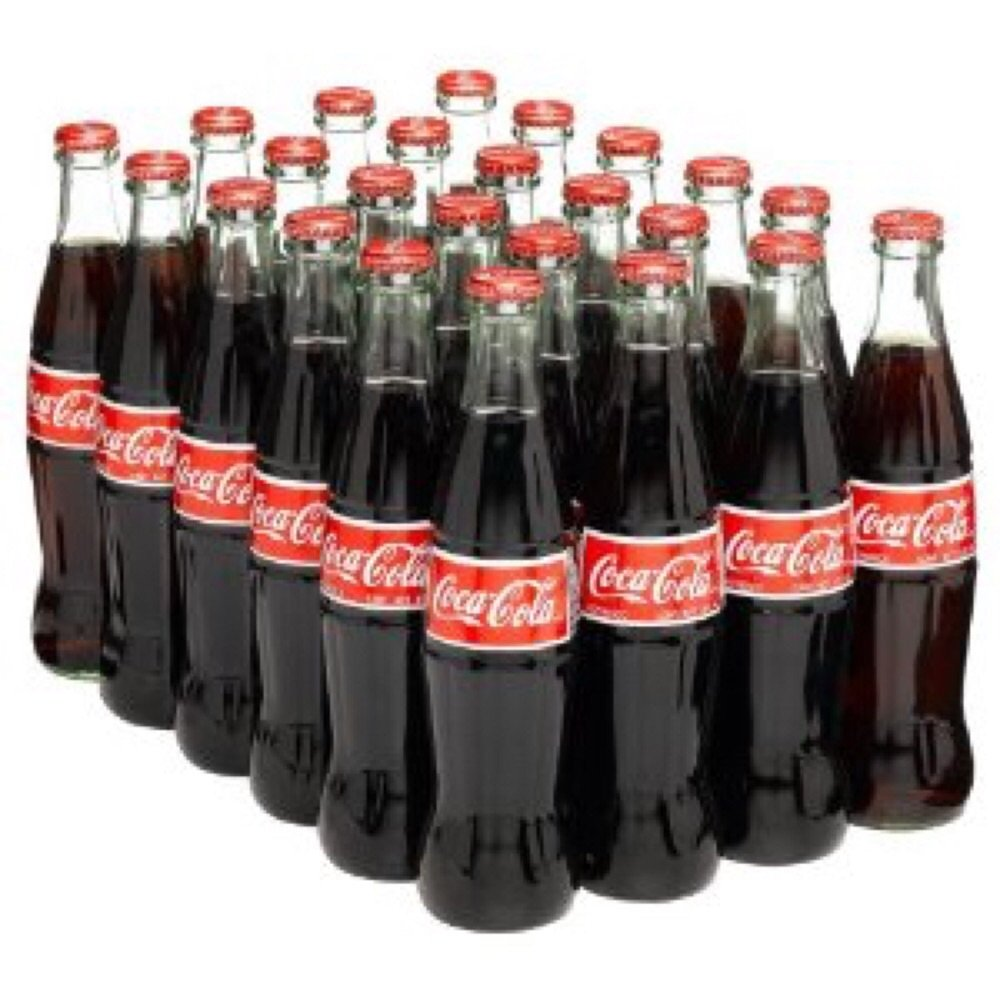 Mexican Coca Cola, Drink Cola, 12 Ounce (Pack of 24)