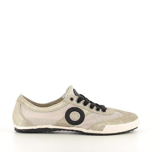 Aro Joaneta - Zapatillas Bajas Mujer Oro Talla 38: Amazon.es: Zapatos y complementos