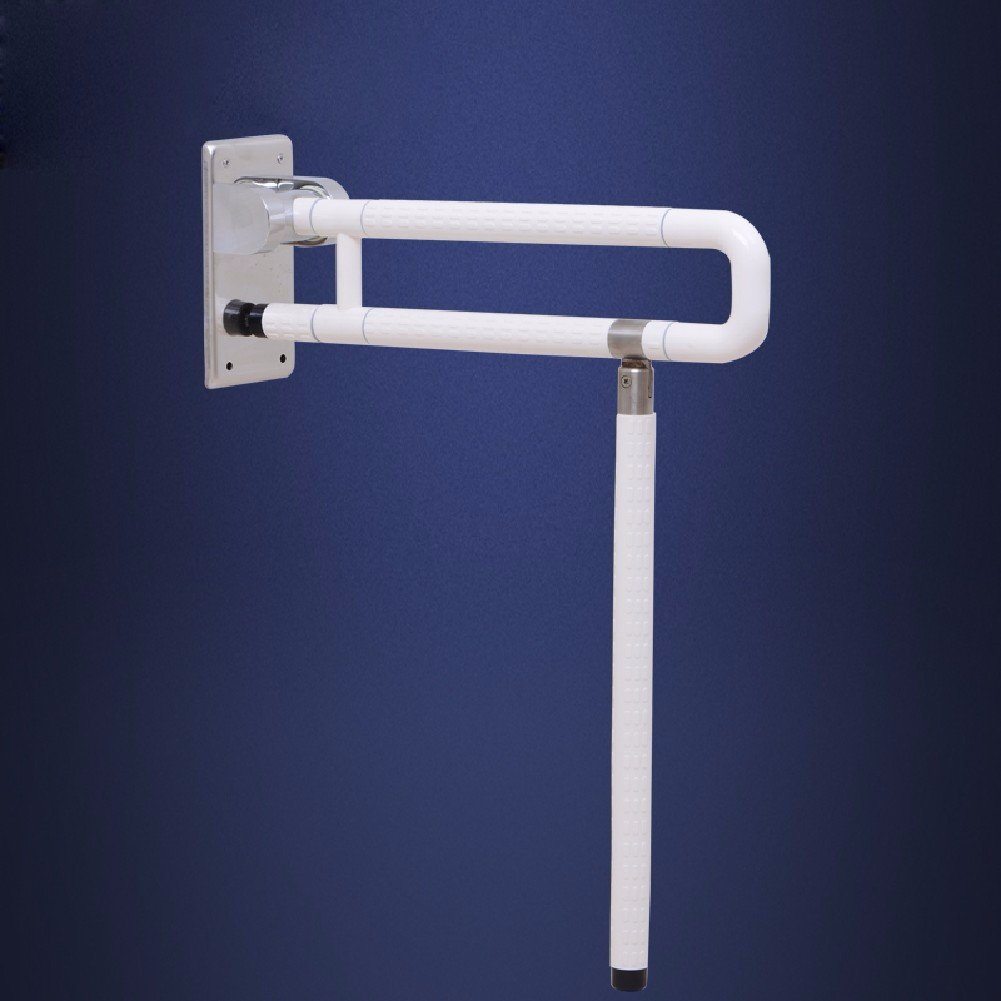 MDRW-Safety Handrail Barrier Free Toilet Folding Armrest Safe Antiskid Handle For Old People With Disabilities 600Mm
