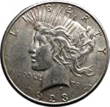1923S Peace AR Dollar United States of America Large Coin with Aquila i50200