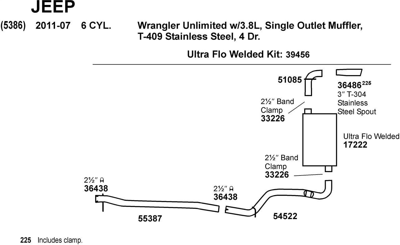 Dynomax 54522 Exhaust Intermediate Pipe