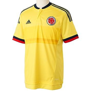 Adidas Fcf H JSY Camiseta Oficial 1ª Equipación Federación Colombiana de Fútbol, Hombre, Amarillo