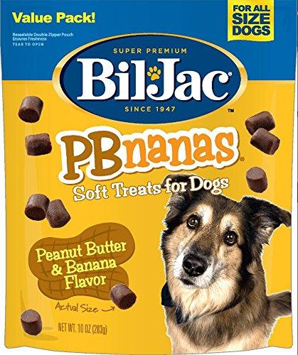 Bil-Jac Pbnanas Soft Dog Treats, 10 oz. (Peanut Butter And Banana Dog Treats Recipe)