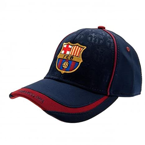 6282b1a9d5c FC Barcelona Official Football Gift Cap - A Great Christmas   Birthday Gift  Idea For Men And Boys  Amazon.co.uk  Sports   Outdoors