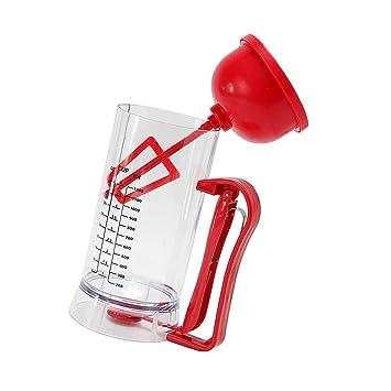 Non de Brand magideal 1200 ml eléctrica Masa dispensador de masa Dosificador con escala para magdalenas, cupcakes, gofres: Amazon.es: Hogar