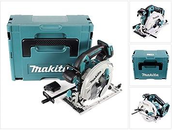 Makita DHS 660 ZJ Akku Handkreiss/äge 18V 165mm Solo im Makpac ohne Ladeger/ät ohne Akku