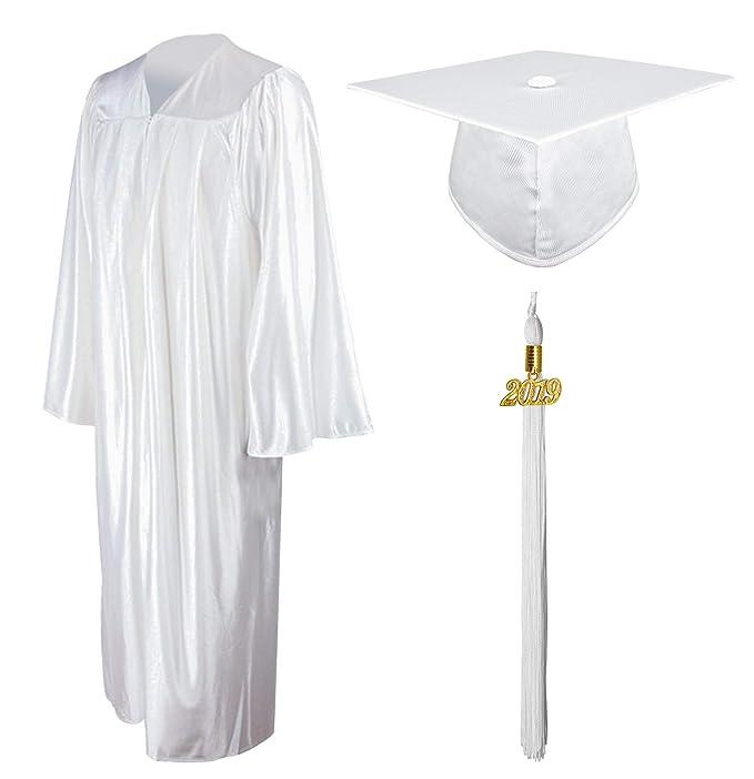 8d7a63c08 GraduationMall Brillante Vestido de graduación Cap Borla Conjunto 2018 para la  Escuela Secundaria  Amazon.es  Ropa y accesorios