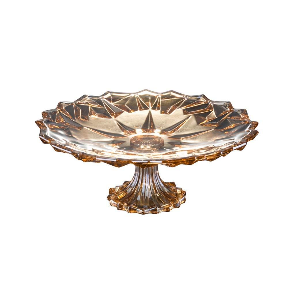 さまざまなスタイルのフルーツボウルクリエイティブノルディックグラスフルーツプレート (色 : GoldB)  GoldB B07PJSBB25