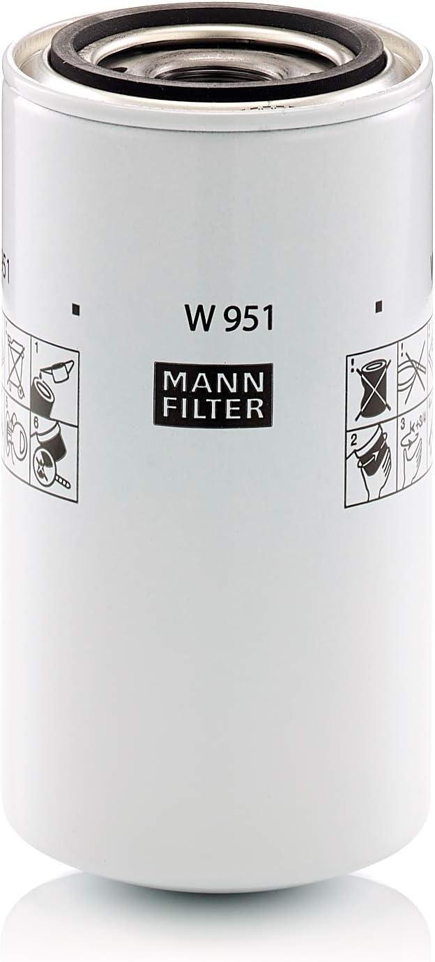 Original Mann Filter Ölfilter W 951 Für Pkw Und Nutzfahrzeuge Auto