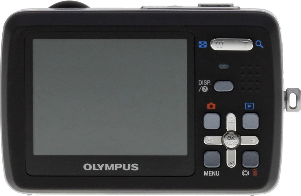 Olympus Stylus 550WP 10MP Waterproof Digital Camera with 3x Optical Zoom and 2.5-inch LCD (Black)