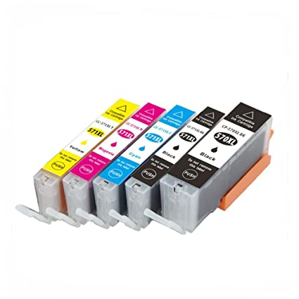 oyat® Compatible Canon PGI-570 X L/CLI-571 X L Color Cartuchos de ...