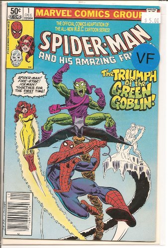 Spider-Man and His Amazing Friends # 1, 8.0 VF