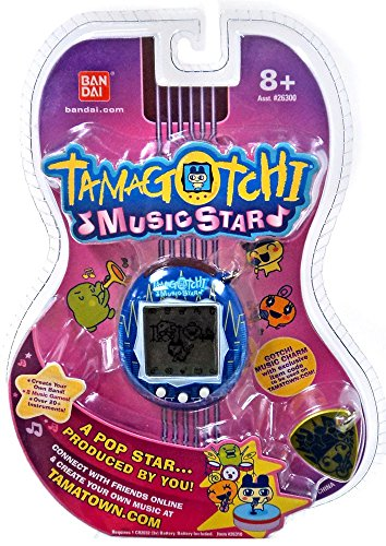 Tamagotchi Music Star V6 Exclusive Blue Sound Blast Virtual Pet