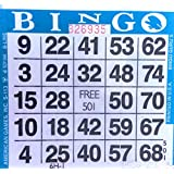 1 on (Single) Blue Bingo Cards