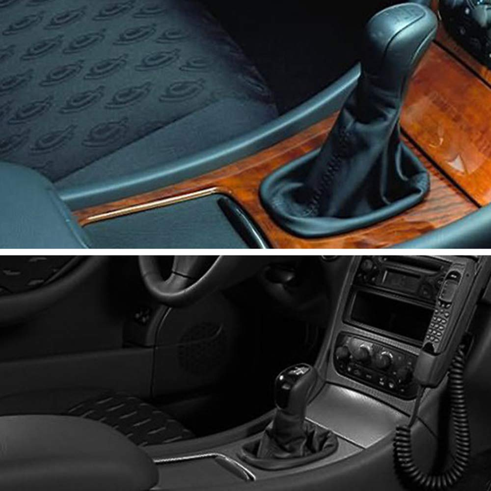 Nrpfell Console Centrale de Voiture Volets Coulissants Porte-Gobelet Couvercle de Volet Roulant pour Mercedes C-Class W203 2000-2007 2036800123 9051