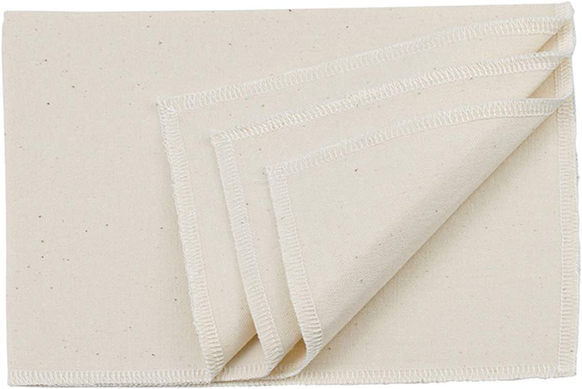14 x 18 inch Bekith 3 Pack Professional Bakers Dough Couche 100/% Pure Cotton Pastry Proofing Cloth for Baking French Bread Baguettes Loafs