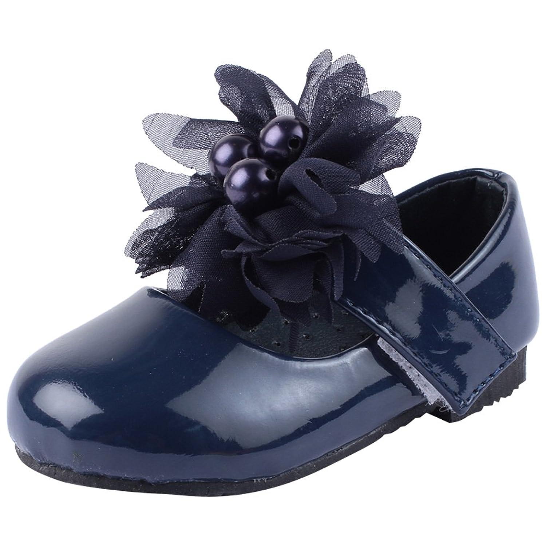 Doink Kids Girls My First Navy Blue Ballet Shoes 24 EU Toddler