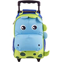 Yodo Zoo 3-Way Kids Rolling Luggage or Toddler Backpack with Wheels