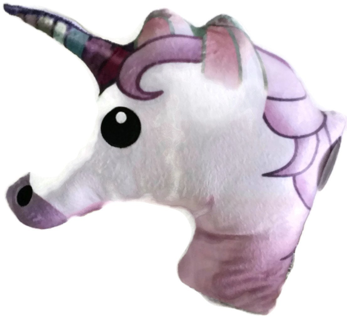 Unicorn Emoji Pillow Plush Pillow 11x15 By Al Mar New Ebay