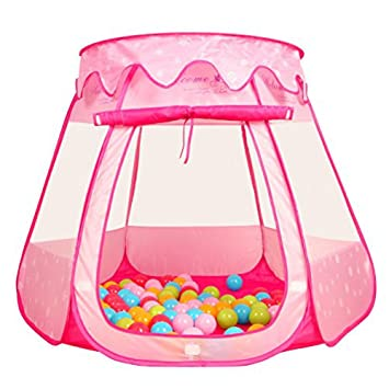 Kid Outdoor Indoor Princess Play TentPortableFun Playhouse Ball Tent Toddler ToysPerfect Gift  sc 1 st  Amazon.com & Amazon.com: Kid Outdoor Indoor Princess Play TentPortableFun ...