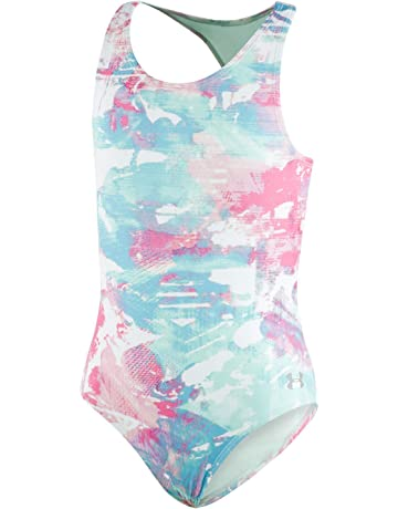 c4f981ed5db37 Under Armour Girls' One Piece Swimsuit