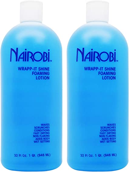 Amazon Com Nairobi Wrapp It Shine Foaming Lotion 32oz Pack Of 2 Health Personal Care