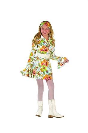 Amazon.com OvedcRay 60u0027S 70u0027S Go Go Girl Retro Hippies Costume 60S 70S Disco Fever Child Costumes Clothing  sc 1 st  Amazon.com & Amazon.com: OvedcRay 60u0027S 70u0027S Go Go Girl Retro Hippies Costume 60S ...
