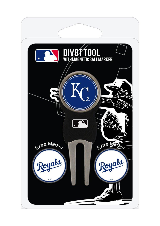 MLB Kansas City Royals Divot Tool Pack With 3 Golf Ball Markers