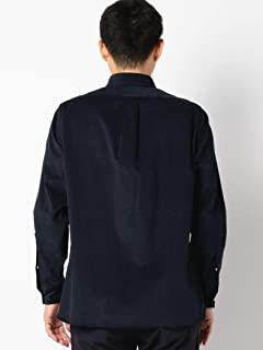 Corduroy Club Collar Shirt 111-18-0075: Navy