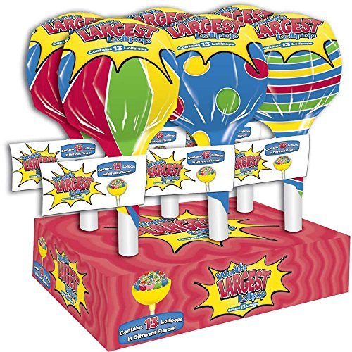 (Worlds Largest Lollipop, 4.6 Ounce -- 6 per case. by Foreign Candy Company)