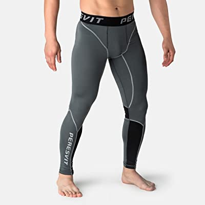 Workout Leggings Men - Compression Pants Men Athletic Running Cool Design Recovery