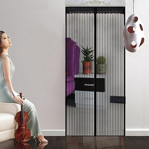 yian Mosquitera cortina magnético para puertas mosca cortina Mosquitera cortina puerta para balcón para salón puerta corredera Terrazas para puerta: Amazon.es: Hogar