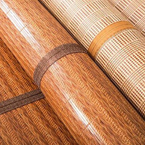Zzaini Double Sided Summer Sleeping Mat, Folding Topper Pad Rattan Topper Pad-B 180x200cm(71x79inch) by Zzaini (Image #3)