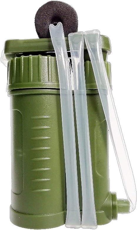 Purificador de Agua portátil para Acampar al Aire Libre Soldado ...