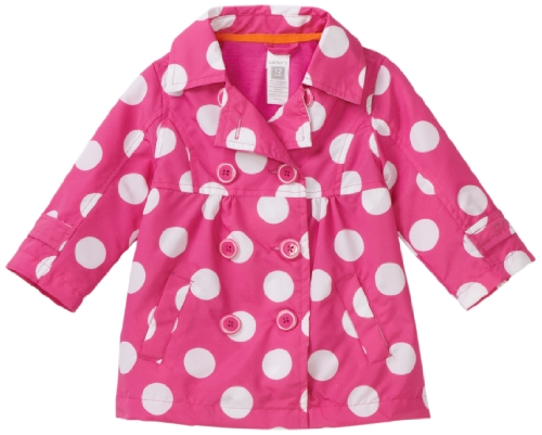 Carters Baby Girls' Printed Trench