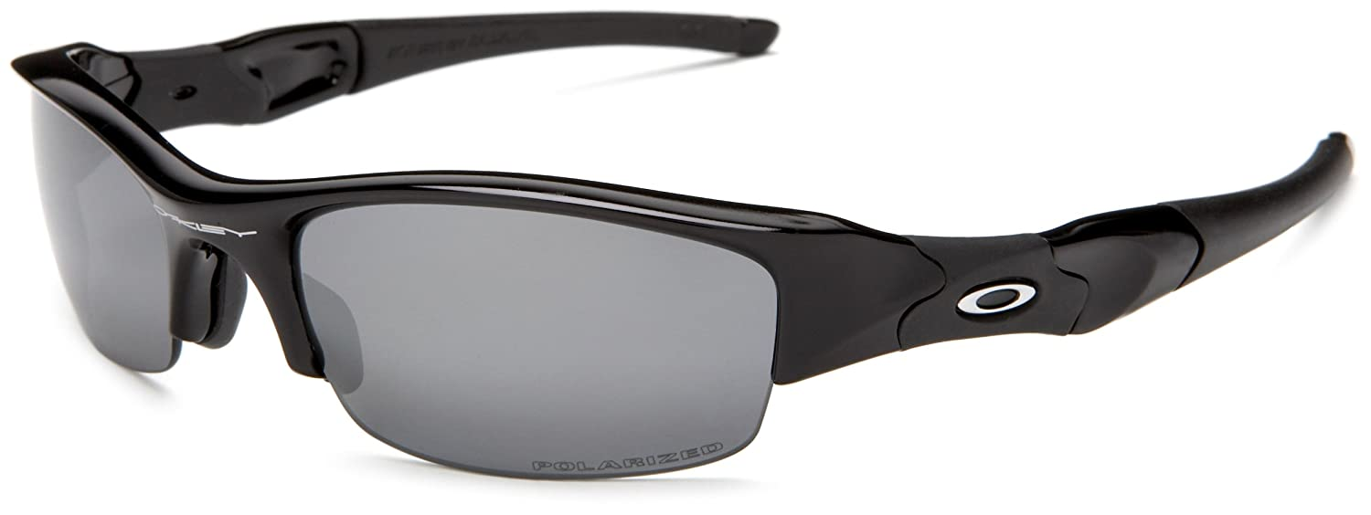 Amazon.com: Oakley Men's Flak Jacket Polarized Sunglasses,Jet Black  Frame/Black Lens,One Size: Oakley: Clothing
