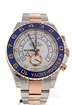 d760544d032 Amazon.com  Rolex Yacht-master Ii 44mm Rose Gold And Steel Watch ...