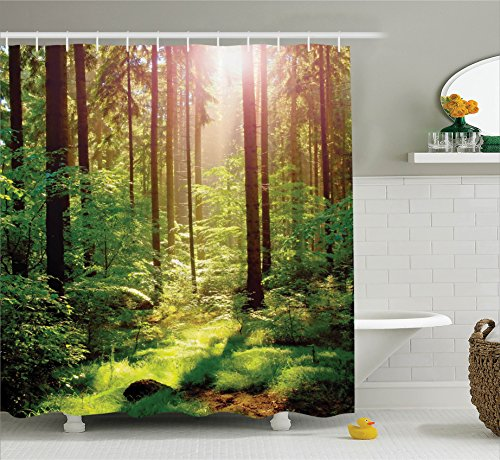 forest shower curtain - 6