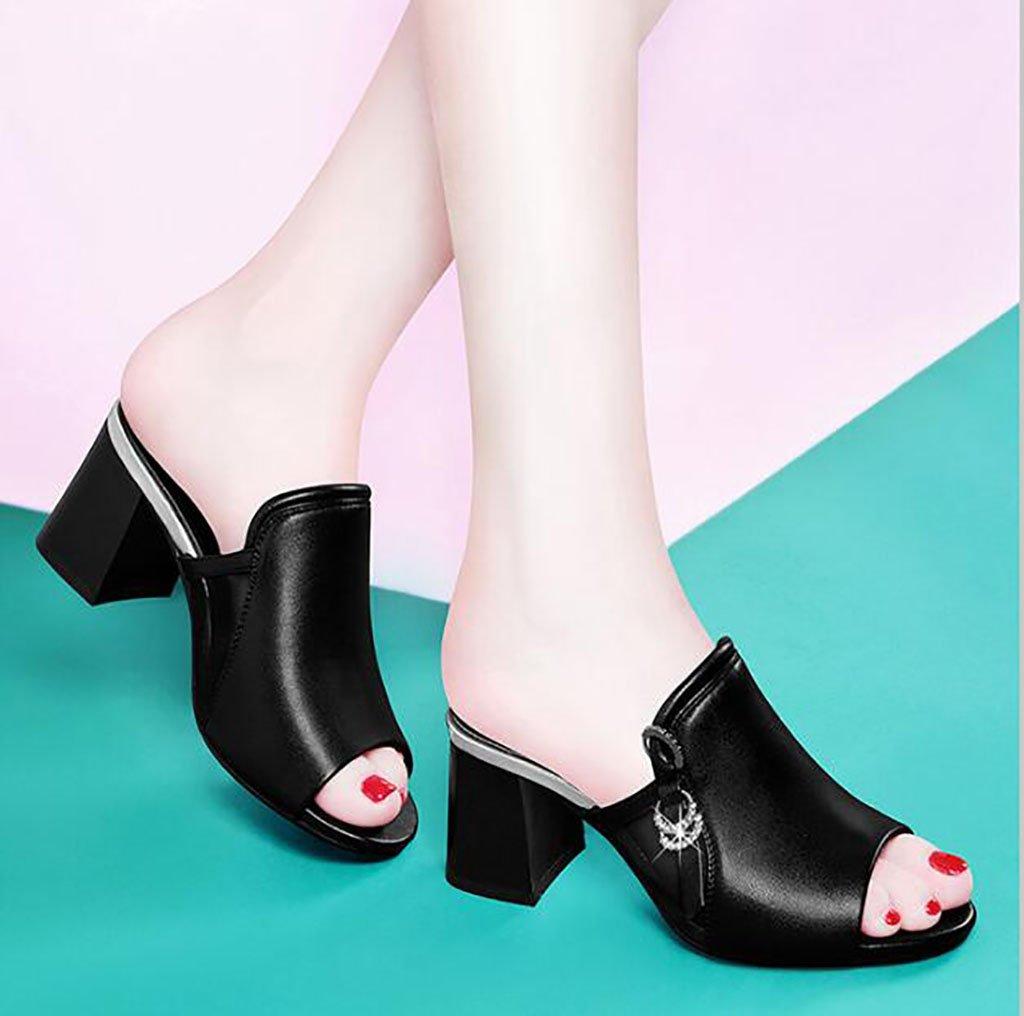 Las zapatillas de deporte femeninas frescas de la moda del verano de las zapatillas de deporte ásperas con las sandalias y los deslizadores palabra tacones altos Sandalias planas,Sandalias de moda