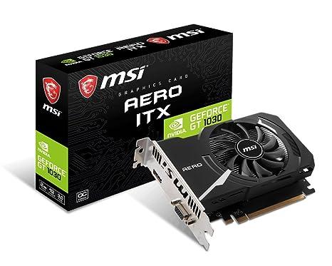 Tarjeta gráfica MSI Gaming GeForce GT 1030 de 2 GB GDRR4 de ...