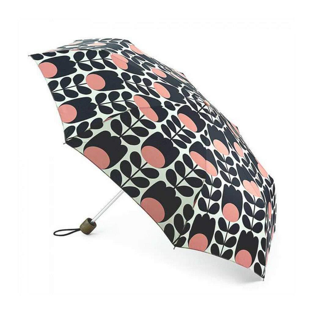 Orla Kiely Minilite Folding Umbrella - Tulip Stem