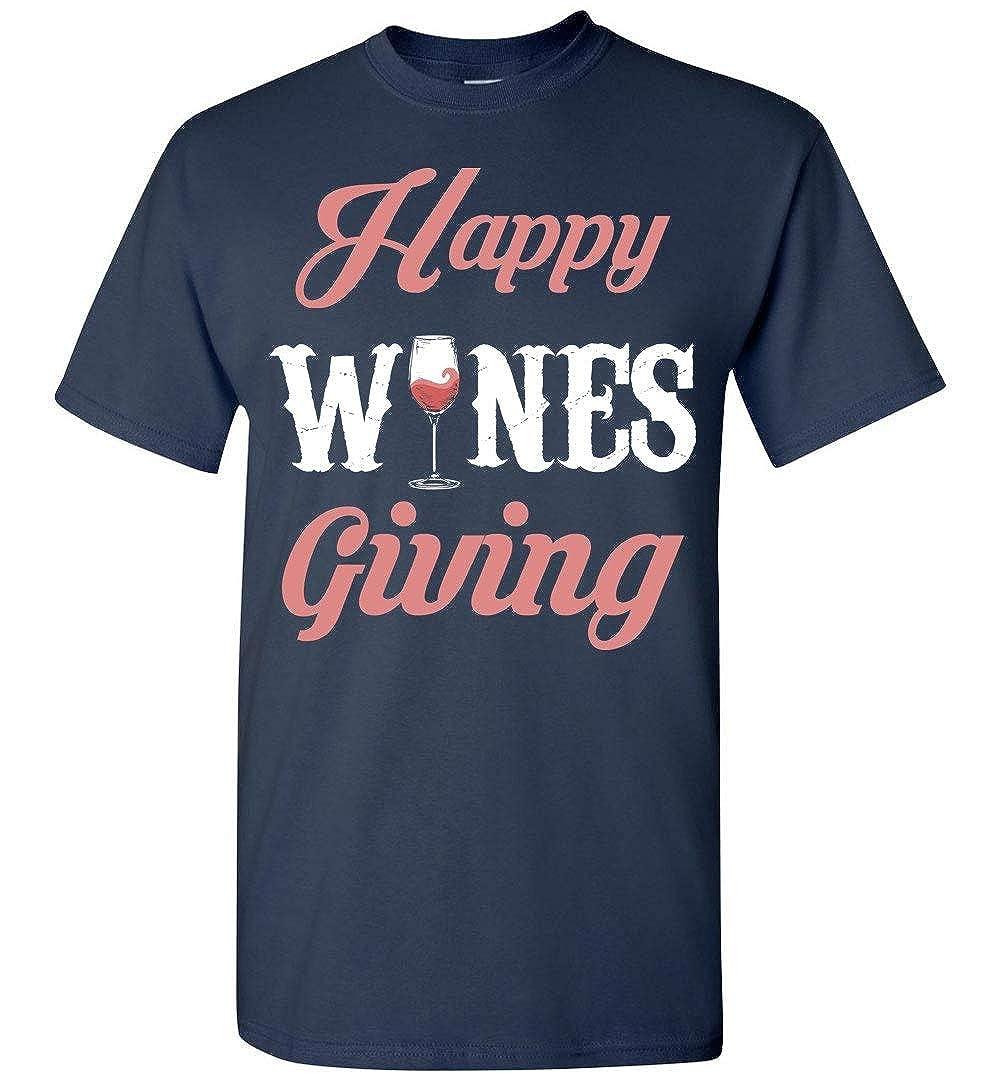 high quality genuine Nana Store Happy Winesgiving T Shirt online fashion  shopping -www.bhadas4india.com