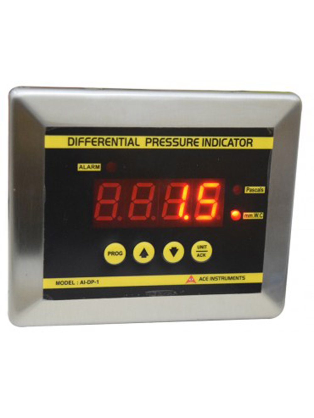 Digital Differential Pressure Indicator Along with Calibration