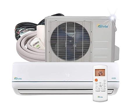 Senville 18000 BTU SENA-18HF/Z Energy Star Mini Split Air Conditioner Heat Pump