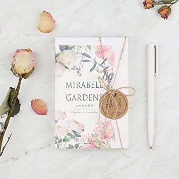 Message Card Mirabel Garden