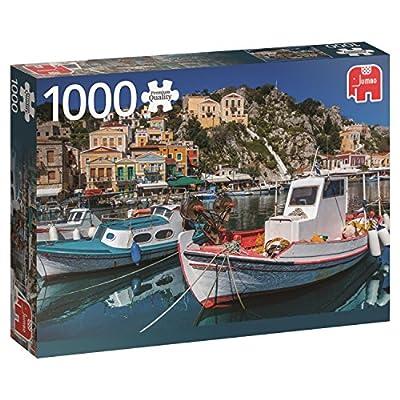 Jumbo 618543 Puzzle Symi Grecia