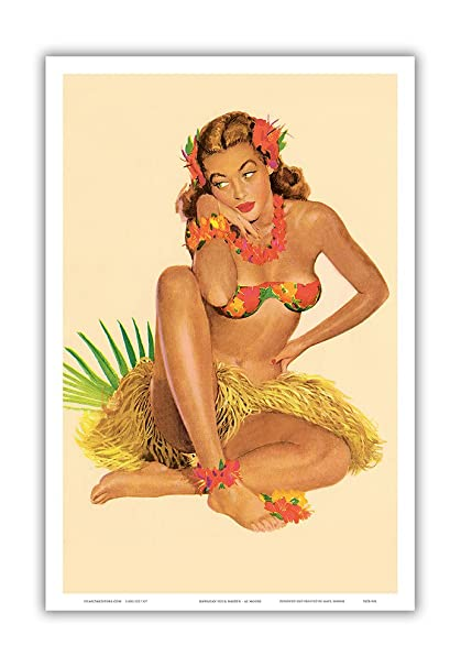 Consider, that vintage hawaiian pin up were