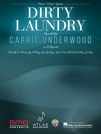 Amazon Carrie Underwood Dirty Laundry Sheet Music Single
